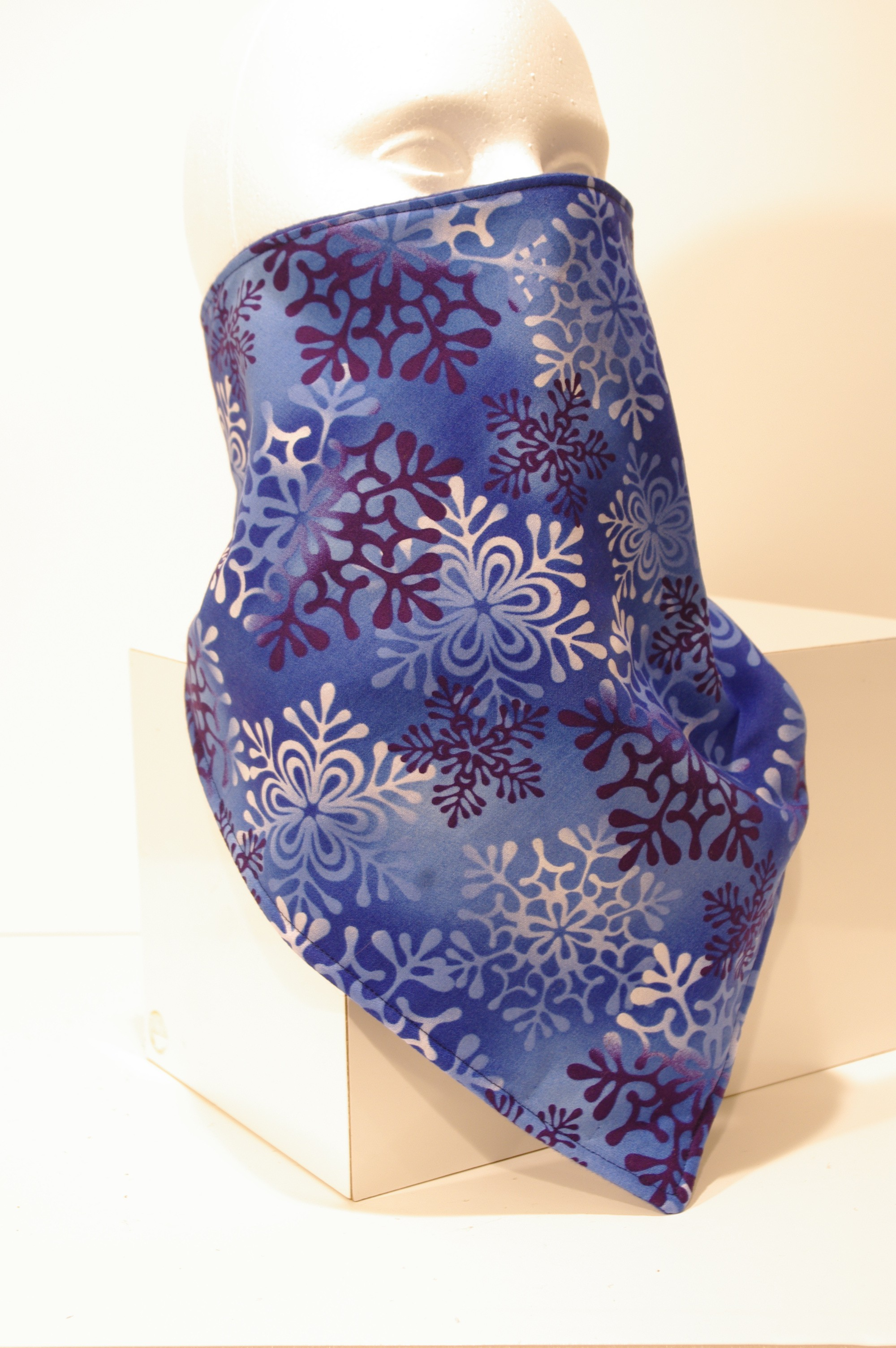 #050 Blue Snowflakes