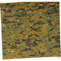 #257 Woodland Digital Camo Bandana
