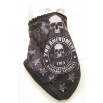 #259 2nd Amendment Skull Banner