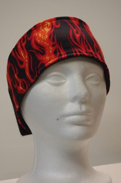 #008 HB Flames on Black