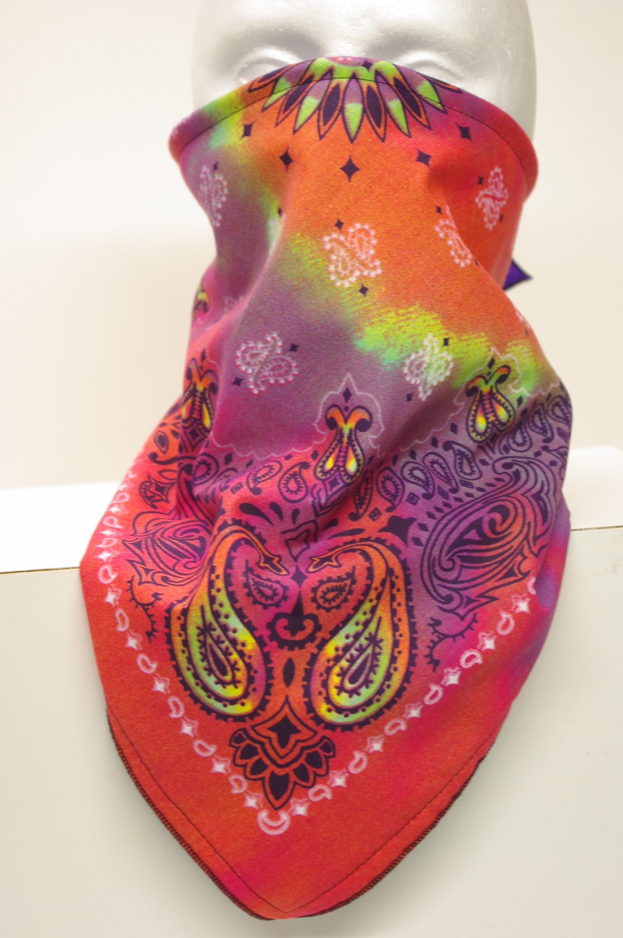 #123 Tie Dye Paisley