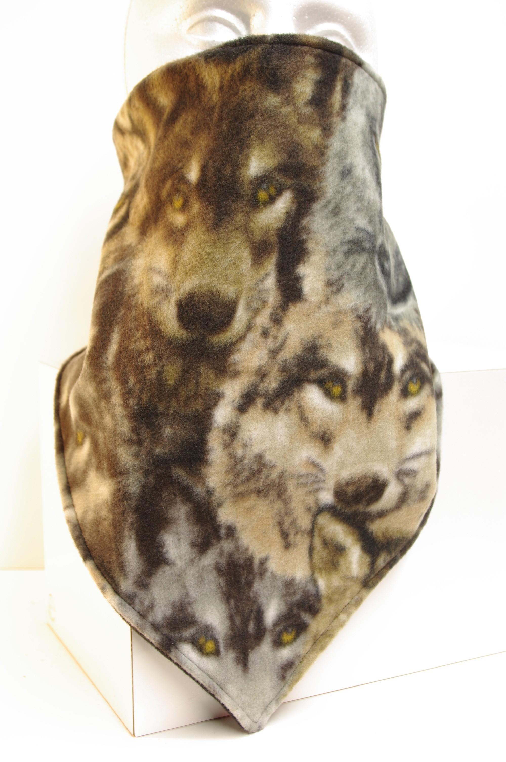 #225 Wolf Double Fleece