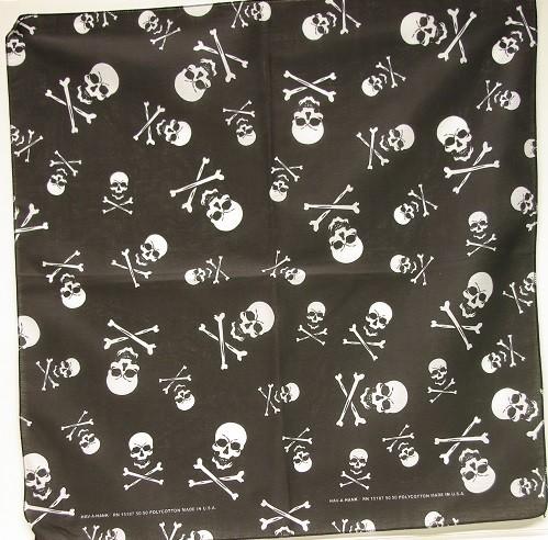 #263 Skull and Bones Bandana