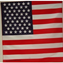 #085 US Flag Bandana